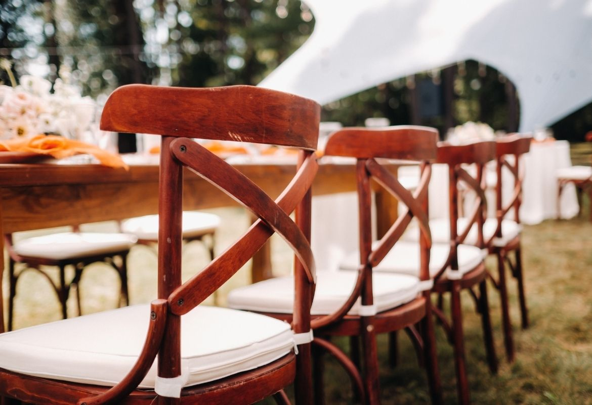 crossback chairs special events