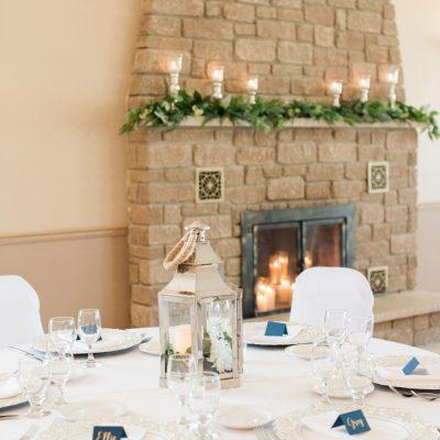 Indoor Fireplace Setup