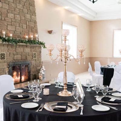 Indoor Wedding Reception